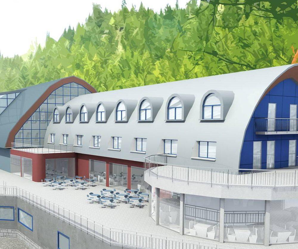 Stazione di partenza cabinovia Alpe Tognola