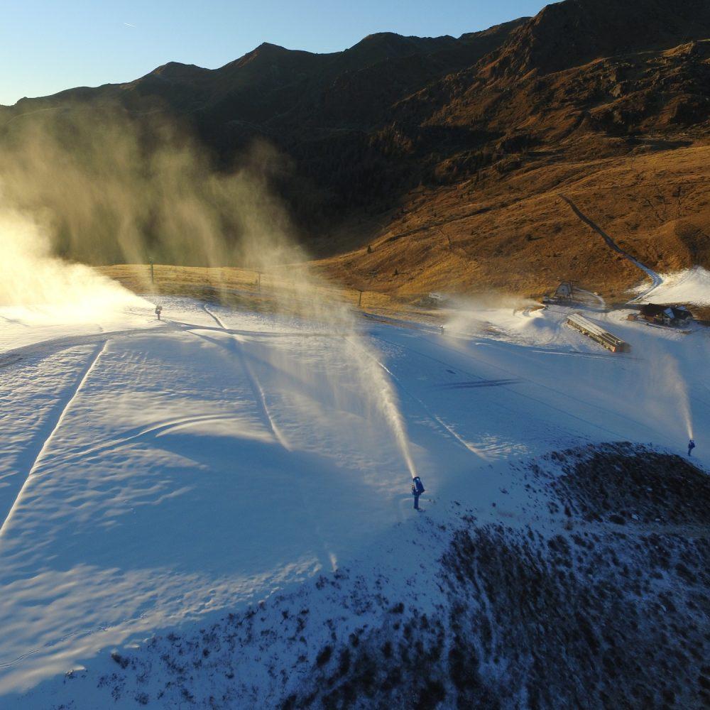 Nuovo impianto di innevamento programmato Alpe Tognola