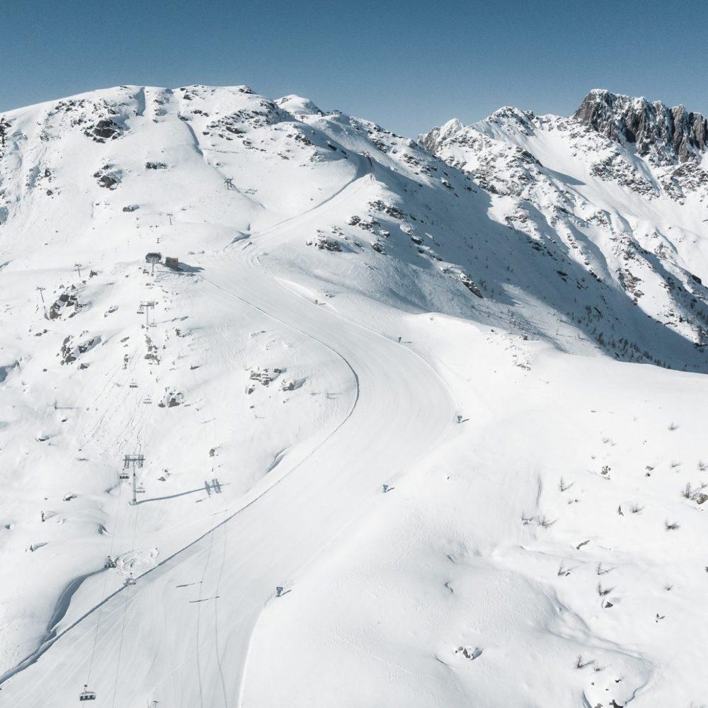 Ampliamento e sistemazione piste da sci Cima Tognola e Cigolera di Tognola