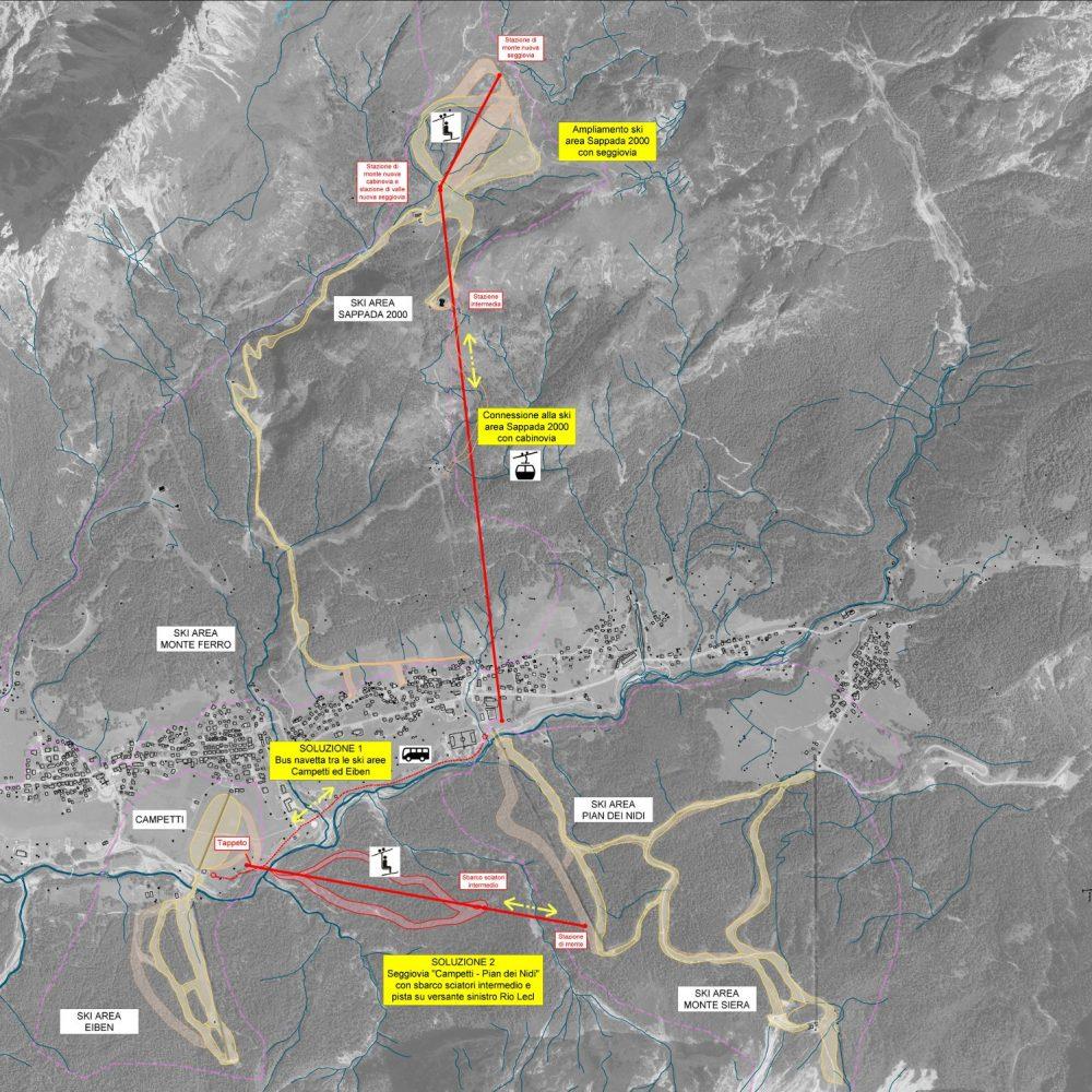 Masterplan sviluppo aree sciabili Sappada