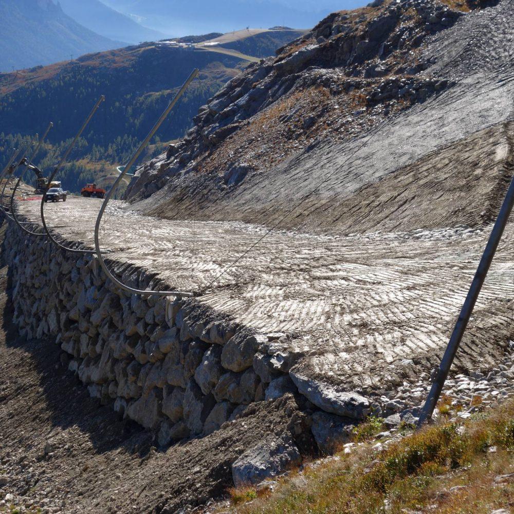 Ampliamento e sistemazione pista da sci Cima Tognola