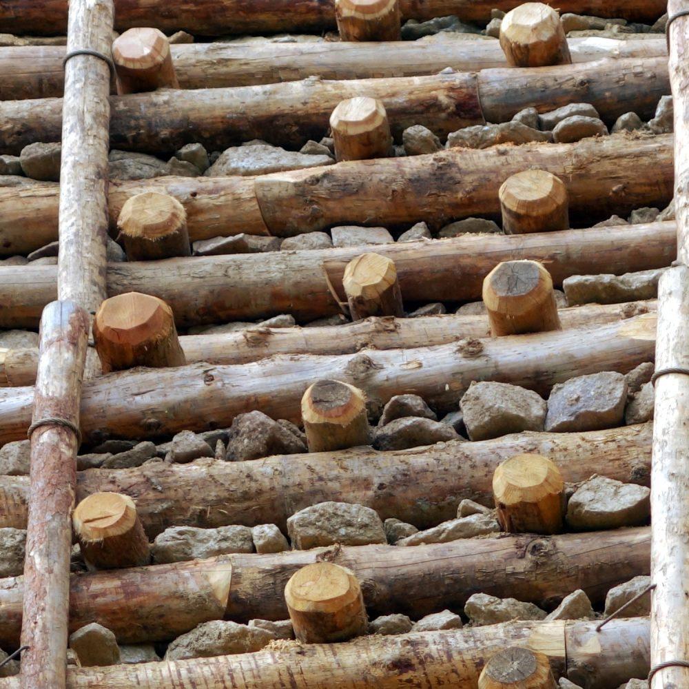 Sistemazione e ampliamento pista Scavalco-Sole con arce in legno