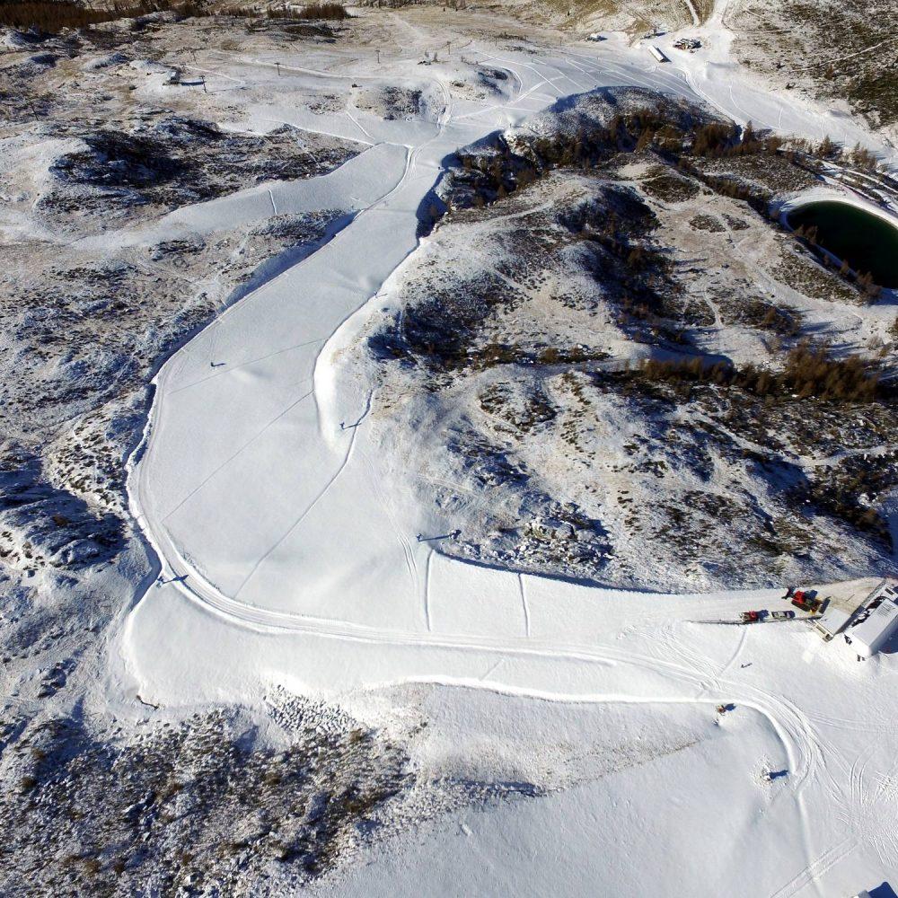 Ampliamento e sistemazione piste da sci Tre di Tognola